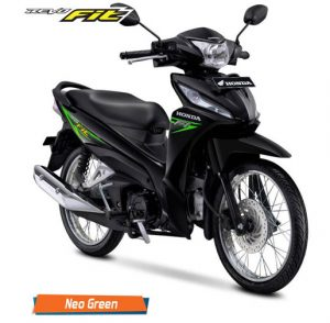 revo hitam hijau