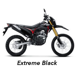 crf 150 hitam