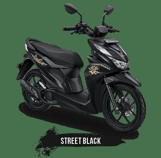 beat street cbs 110 hitam