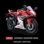 new cbr 150 racing red
