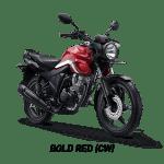 cb 150 verza bold red