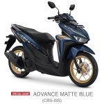 vario 125 cbs iss advance matte blue