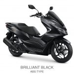 pcx 160 abs brilliant black