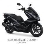 pcx 160 cbs glorious matte black