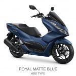 pcx 160 abs royal matte blue