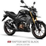 new cb 150 r raptor matte black