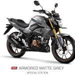 new cb 150 r armored matte grey
